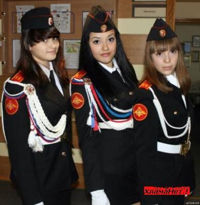 Юбки для кадетов