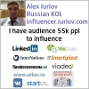 Business influencer russian KOL Russia