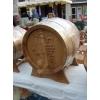 Деревянные дубовые бочки для коньяка и вина.