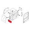 Стекло лобовое нижнее (триплекс)  20Y-54-51812/ 20Y-54-51601 KOMATSU с
