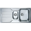 Кухонная мойка Teka PRINCESS 1 1/2 B 1D микротекстура