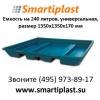 Емкость пластиковая для отходов ПДО-1601 емкости пластиковые пдо 1601