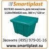 Пластиковые контейнеры под хранение песка соли сорбента реагентов
