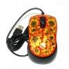 Мышки с росписью под хохлому