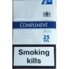 Сигареты опт мелкий крупный compliment 25 - 425$ -480 пачек